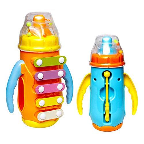 WYJW Klopfen am Klavier Kinder Musikspielzeug Hand klopfen Klavier Lustige Bunte Flasche für Kinder