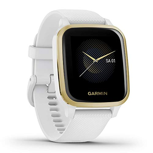 Garmin Venu Sq – wasserdichte GPS-Fitness-Smartwatch mit 1,3