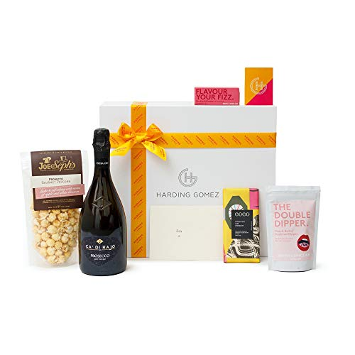 'A Prosecco Affair' Gift Hamper | Harding Gomez Epic Prosecco Lovers Sweet Treats & Chocolate Foodie Gift Box/Basket Hamper