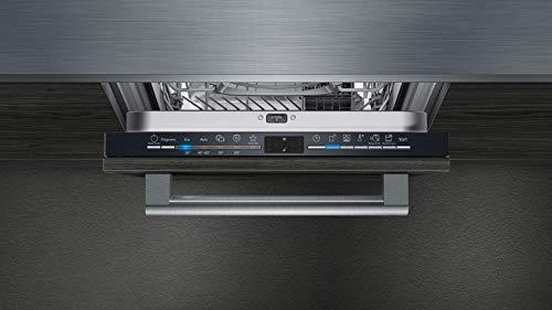 Siemens SR61HX12KE iQ100 Lavavajillas totalmente integrado/E / 70 kWh / 9 MGD/Smart Home compatible vía Home Connect/programa Hygiene Plus/VarioSpeed Plus