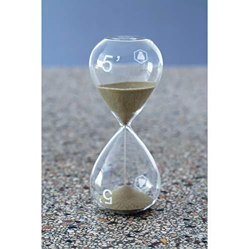 LAGUIOLE - Sablier 5 Minutes Cuisine et Décoration 16 cm - Verre - Transparent