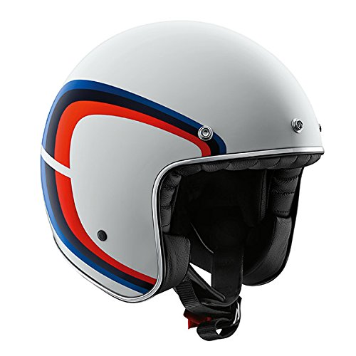 Casco Legend Tricolor Moto Bmw Motorrad, 58