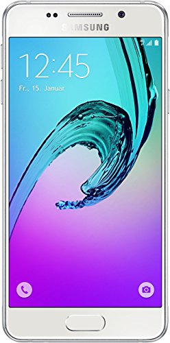 ​Samsung Galaxy A3 Smartphone (12 cm (4,71 Zoll) HD Super AMOLED Touch-Display, 16 GB, Android 5.1)  weiß
