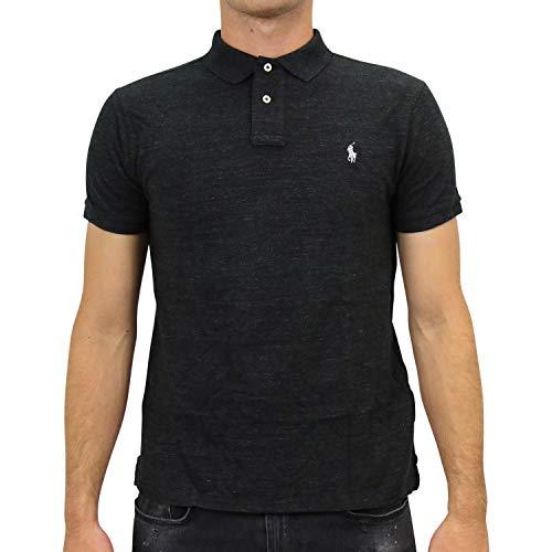 Ralph Lauren Herren Slim-Fit Poloshirt Schwarz S
