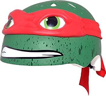 Teenage Mutant Ninja Turtle Youth Raphael Helmet Red