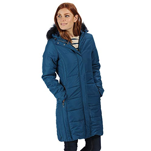 Regatta Damen Steppjacke, Blau (Blue Opal), 36 (Herstellergröße: XS)