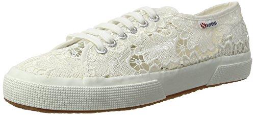 Superga Unisex-Erwachsene 2750-macramew Sneakers, Weiß (901), 41 EU