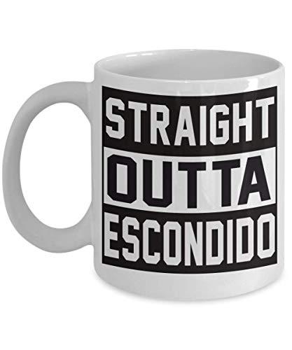 N\A Escondido California CA Souvenir Gift Coffee Mug - I Love City Town Lover Idea de Regalo para Mujeres Hombres Him Her Tea Cup Christmas Xmas 11oz