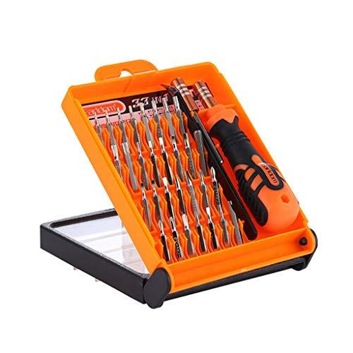 YDHWY 33 en 1 Destornillador de precisión Conjunto Torx Magnético Tornillo bit Multifunción Dispositivo de reparación de teléfonos móviles Herramientas de Mano