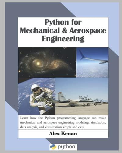 Python for Mechanical and Aerospace Engineering Front Cover