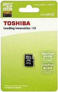 Toshiba Tarjeta de memoria de MicroSD MicroSDHC 16GB Class 4 ...