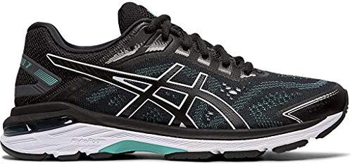 ASICS Women's GT-2000 7 Running Shoes, 9M, Black/Black