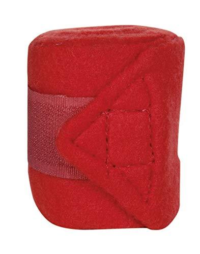 HKM Polarfleecebandagen -Mini-Shetty-, rot, 100