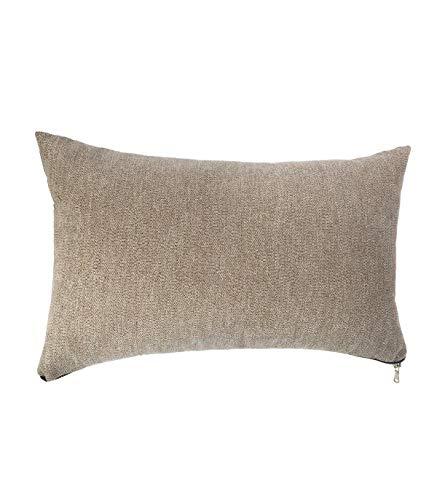 Zip taupe cushion 30X50
