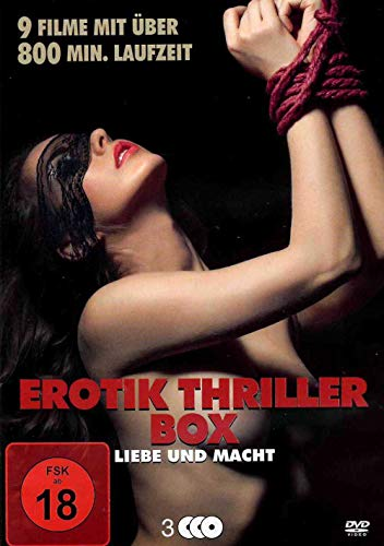 Erotik Thriller Box - 9 Filme über Liebe und Macht [3 DVDs]