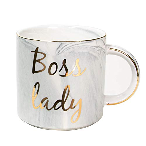 Vilight Boss Gifts for Women Boss Lady Mug for Wife Mom Girl Friend- Female Entrepreneur Business Owner Coffee Cup for Woman 11.5 oz