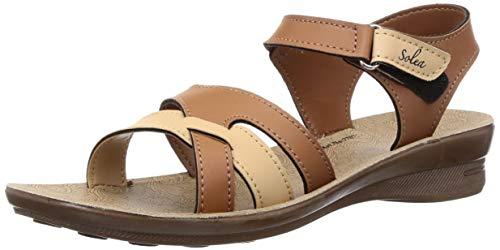 PARAGON SOLEA Women's Tan Sandals Price in India