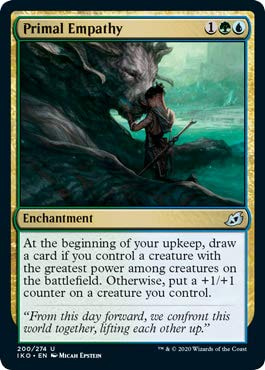 Magic: The Gathering - Primal Empathy - Ikoria: Lair of Behemoths