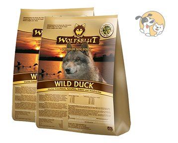 Wolfsblut | Wild Duck | 2 x 15 kg | Ente | Trockenfutter | Hundefutter | Getreidefrei