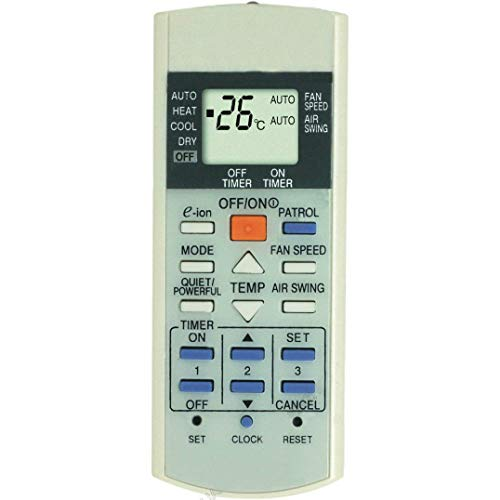 New Universal Replacement Air Conditioner Remote Control for Panasonic A75c3058 A75c3068 A75c2988 A75c2604 A75c3169 A75c3173 A75c2989 A75c2582