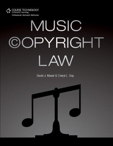 Music Copyright Law, 1St Ed.