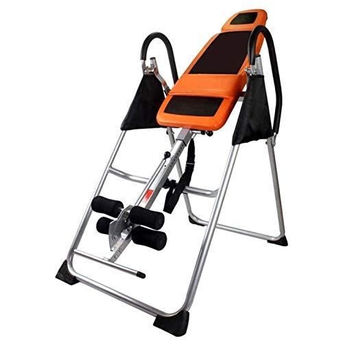 Best Prices! ZYK Premium Inversion Table withHead Pillow & Lumbar Support Pad,Foldable Gravity Inver...