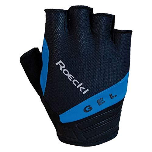 Roeckl Itamos Fahrrad Handschuhe kurz schwarz/blau 2020: Größe: 9