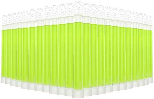 """Swiss Safe Premium 6"""" Glow Sticks - Extra Bright, 12+ Hour Duration, Emergency Ready"""