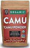 FGO Organic Freeze-Dried Camu Powder | 7oz Resealable Kraft Bag | 100% Raw from Brazil