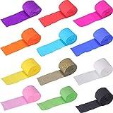 REYOK Papier Crêpé, 24 Rouleaux De Papier Crêpé 12 Couleurs Crépon Bandes,Crepe Paper Craft Streamers...
