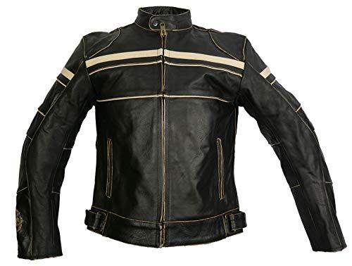 Chaqueta Moto Cuero Marca IGUANA CUSTOM CLOTHES