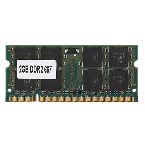 DDR2 Speicher,ASHATA PC2-5300 Laptop Speicher DDR2 667 MHz 2GB Ram 200Pin Modul Board,Computer Arbeitsspeicher für Intel / AMD Motherboard