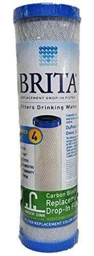 Brita Drinking Water Carbon Block Under Sink Replacement Filter USF-104