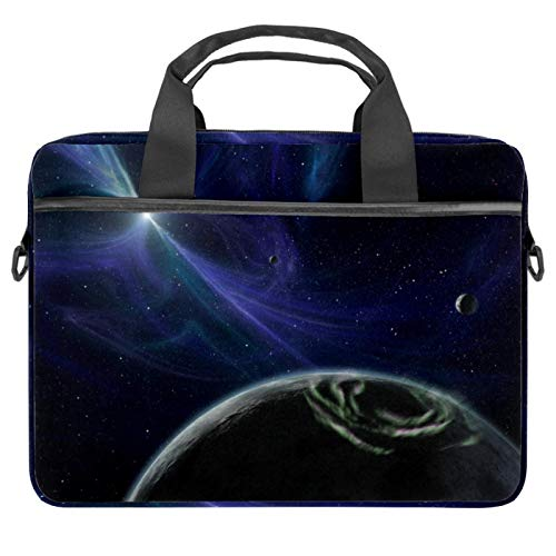 Laptop Bag Planet Space Univers Notebook Sleeve with Handle 13.4-14.5 inches Carrying Shoulder Bag Briefcase
