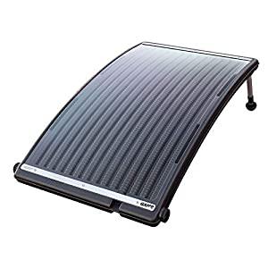 SOLAR POOL HEATER: The GAME SolarPRO Curve Solar Pool Heater has been designed for above-ground pools. It increases the pool temperature by 5 degrees in 4 days (for an 8,000-gallon pool). DURABLE CONSTRUCTION: We've designed this above-ground solar p...