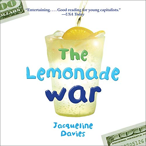 The Lemonade War audiobook cover art