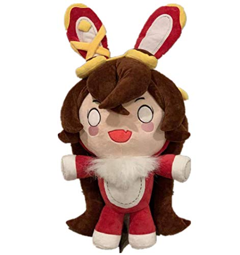 Muñeca de peluche con diseño de personajes de peluche de color ámbar y bonito muñeco de peluche para decoración del hogar, sofá, decoración creativa para niños, niños, grils