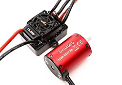 Dynamite fuze brushless motor and esc