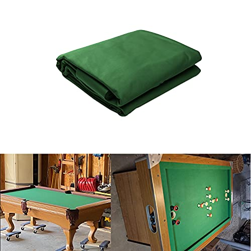Nylon Billiards Pool Table Cloth, 2.8 Meters Long Professional Pool Table Felt with 6 Cloth Strips...