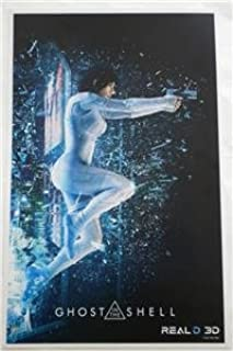 NEW GHOST IN THE SHELL Scarlett Johansson MOVIE POSTER Real D 3D