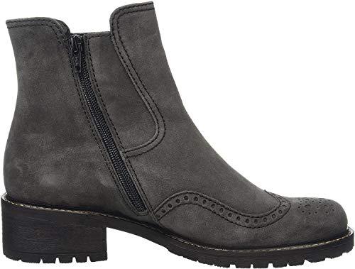 Gabor Shoes 56.091 Damen Kurzschaft Stiefel, Grau (dark grey (Mel.) 39), 40.5 EU (7 Damen UK)