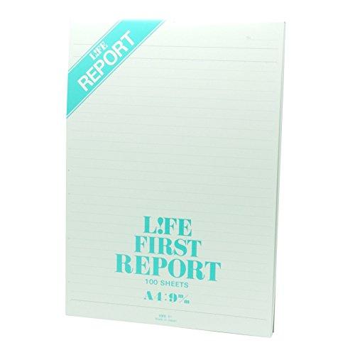 ライフ レポート用紙 ファーストレポート A4 R1
