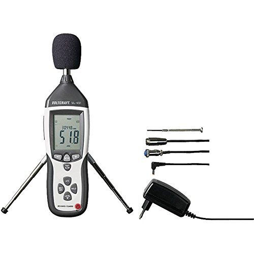 Fonometro VOLTCRAFT SL-451 31,5 Hz - 8 kHz