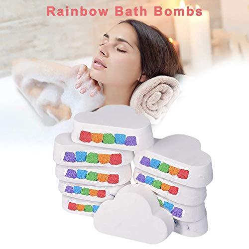 Seasons Shop Bombe de Bain Arc-en-Ciel pour Le Bain Relaxant d'aromathérapie Grands Cadeaux Filles, Femmes 6 onces Excitement
