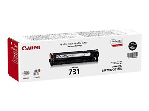 Canon cartucho 731 de tóner original negro para impresoras láser i-SENSYS LBP7100Cn, LBP7110Cw,i-SENSYS,MF8230Cn, MF8280Cw,i-SENSYS MF623Cn, MF628cw