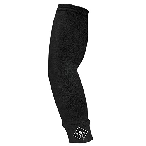 "Baseball Brilliance Pro Style Compression Arm Sleeve - Black, 4""x10"" 