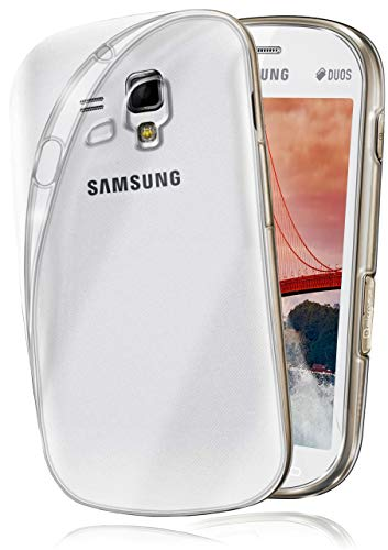 moex Aero Case für Samsung Galaxy S3 Mini - Hülle aus Silikon, komplett transparent, Handy Schutzhülle Ultra dünn, Handyhülle durchsichtig - Klar