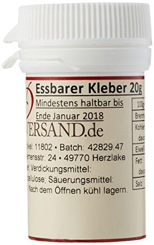 Pati Versand Essbarer Kleber, 1er Pack (1 x 20 g)