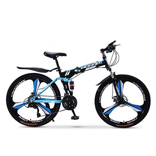 Dapang Bicicleta de montaña de suspensión Doble Completa, con Cuadro de Acero...