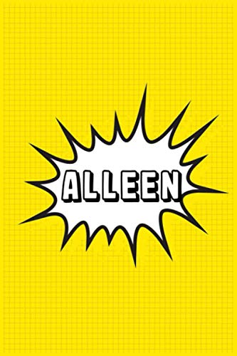 Alleen: Personalized Name Alleen Notebook, Gift for Alleen, Diary Gift Idea